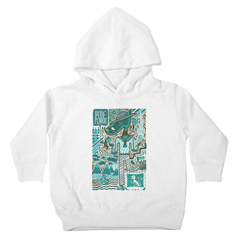 sabor puro Kids Toddler Pullover Hoody by wetzka's Artist Shop