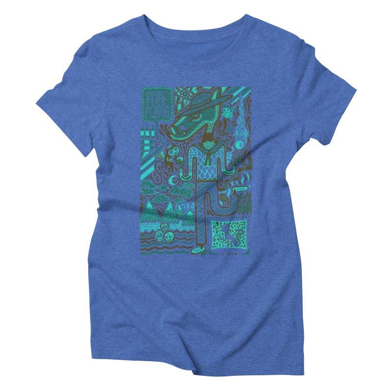 sabor puro Women's Triblend T-Shirt by wetzka's Artist Shop