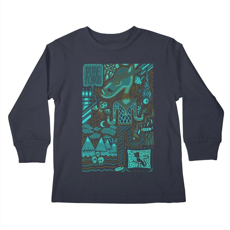 sabor puro Kids Longsleeve T-Shirt by wetzka's Artist Shop