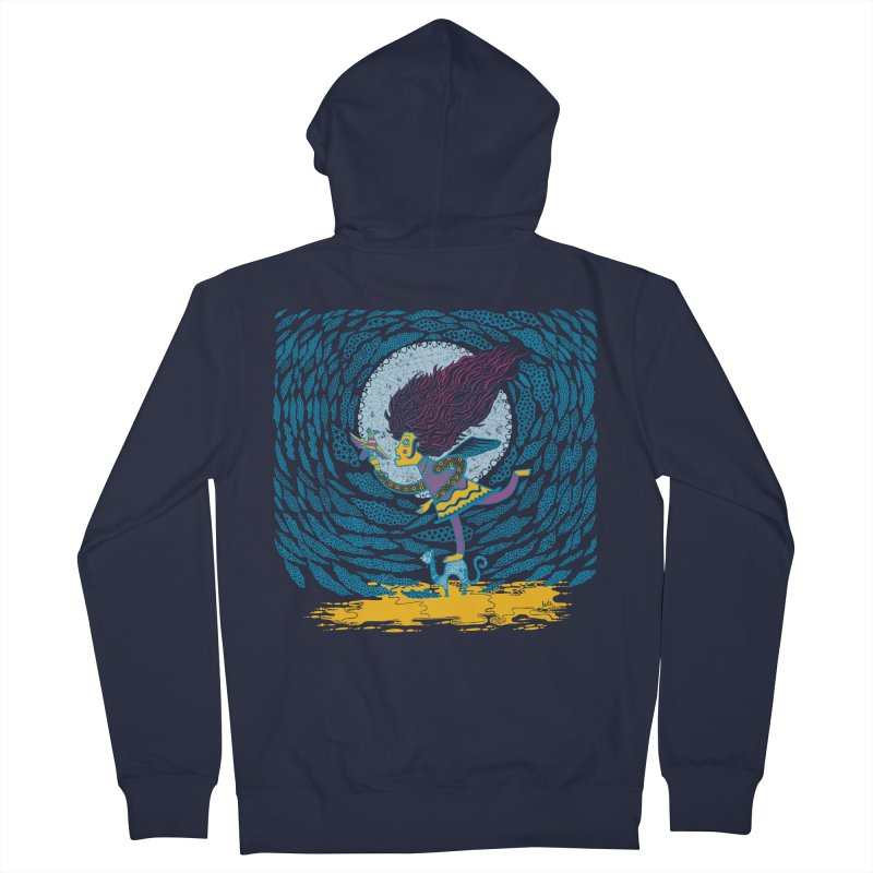 Nahuala Men's Zip-Up Hoody by wetzka's Artist Shop