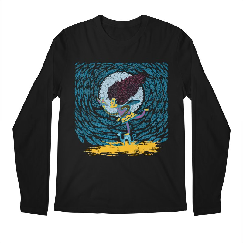 Nahuala Men's Longsleeve T-Shirt by wetzka's Artist Shop