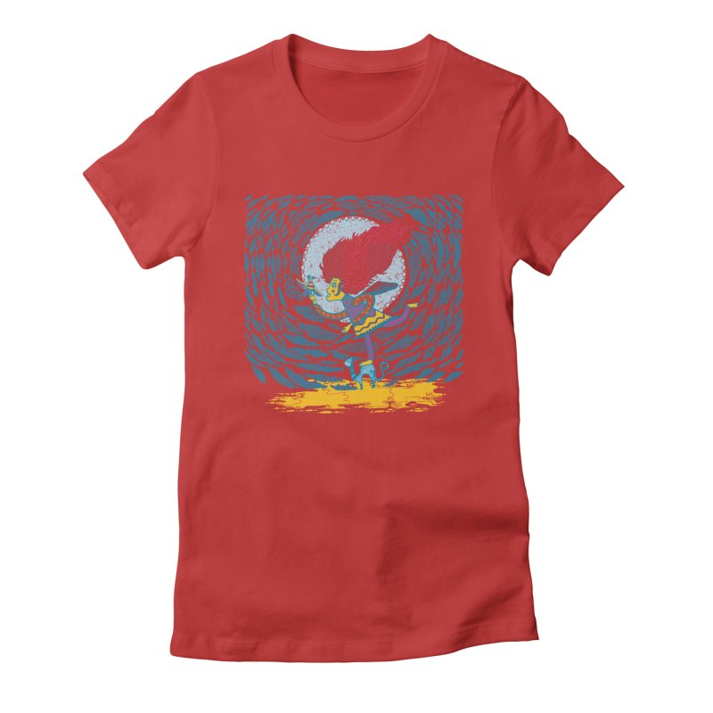 Nahuala Women's Fitted T-Shirt by wetzka's Artist Shop