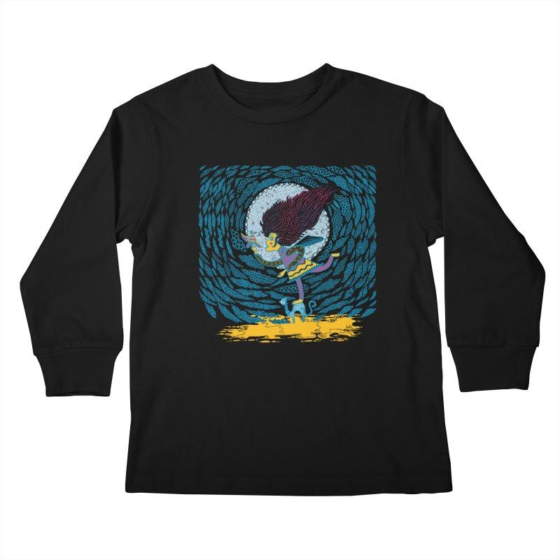 Nahuala Kids Longsleeve T-Shirt by wetzka's Artist Shop