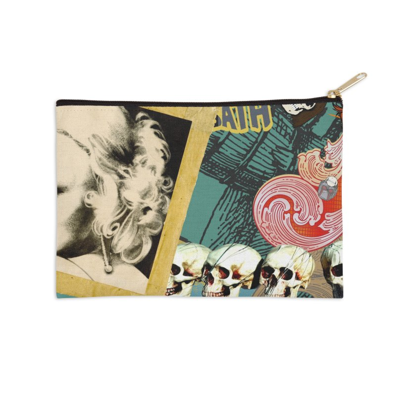Wild and Weird Accessories Zip Pouch by World Famous Design Junkies