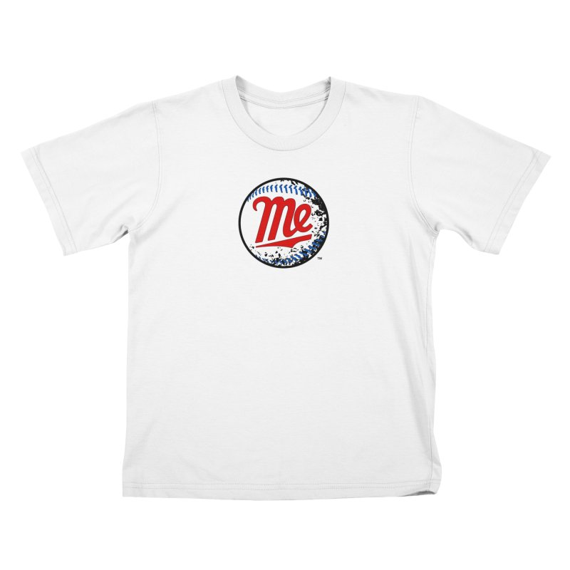 Baseball Me Kids T-Shirt by World Famous Design Junkies
