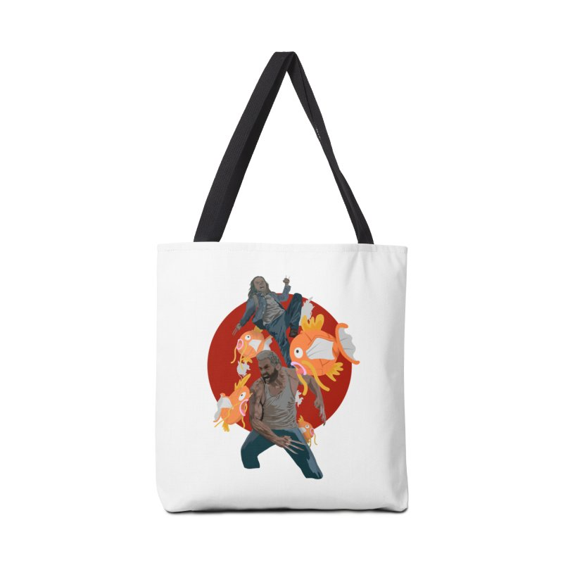 Father, Child, Fish Accessories Bag by World Famous Design Junkies