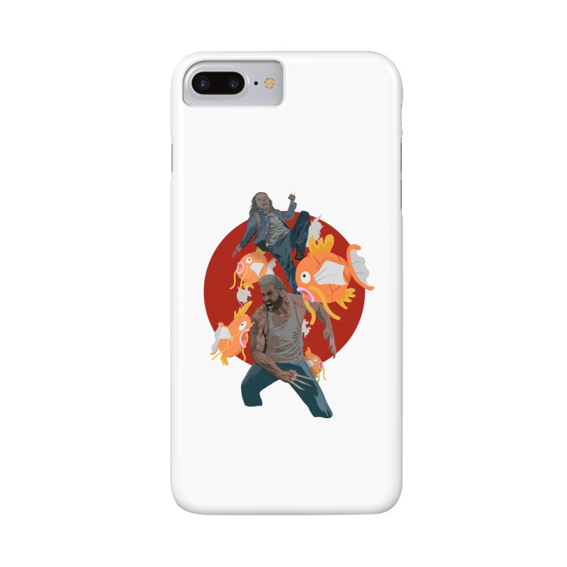 Father, Child, Fish Accessories Phone Case by World Famous Design Junkies