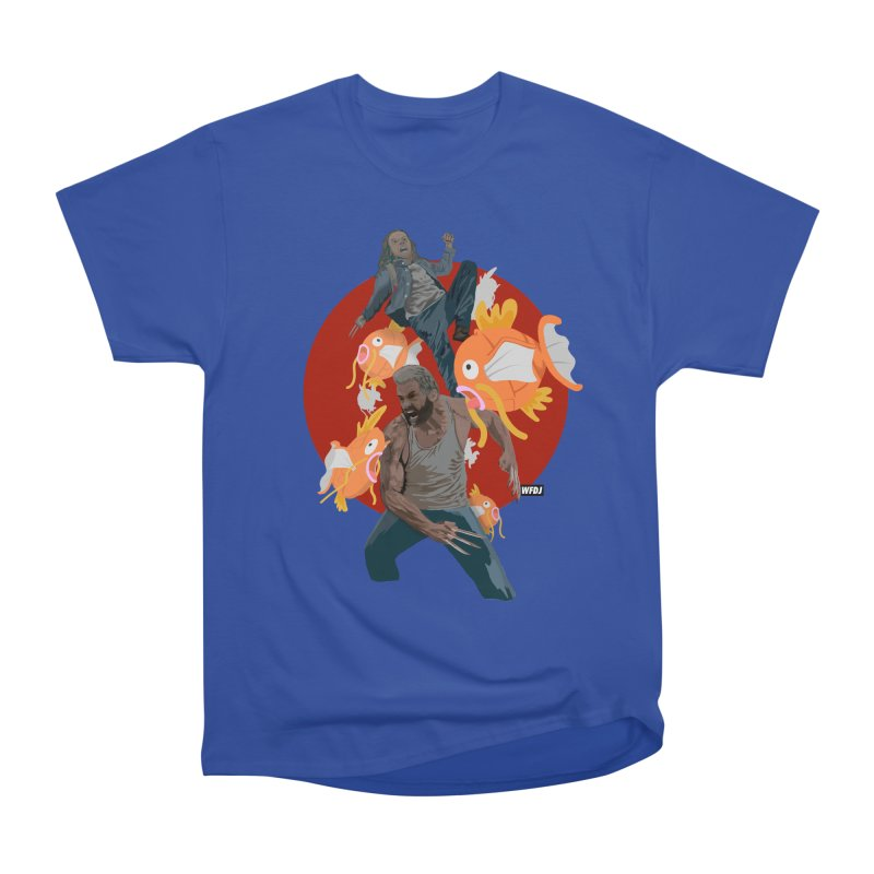 Father, Child, Fish Men's Classic T-Shirt by World Famous Design Junkies