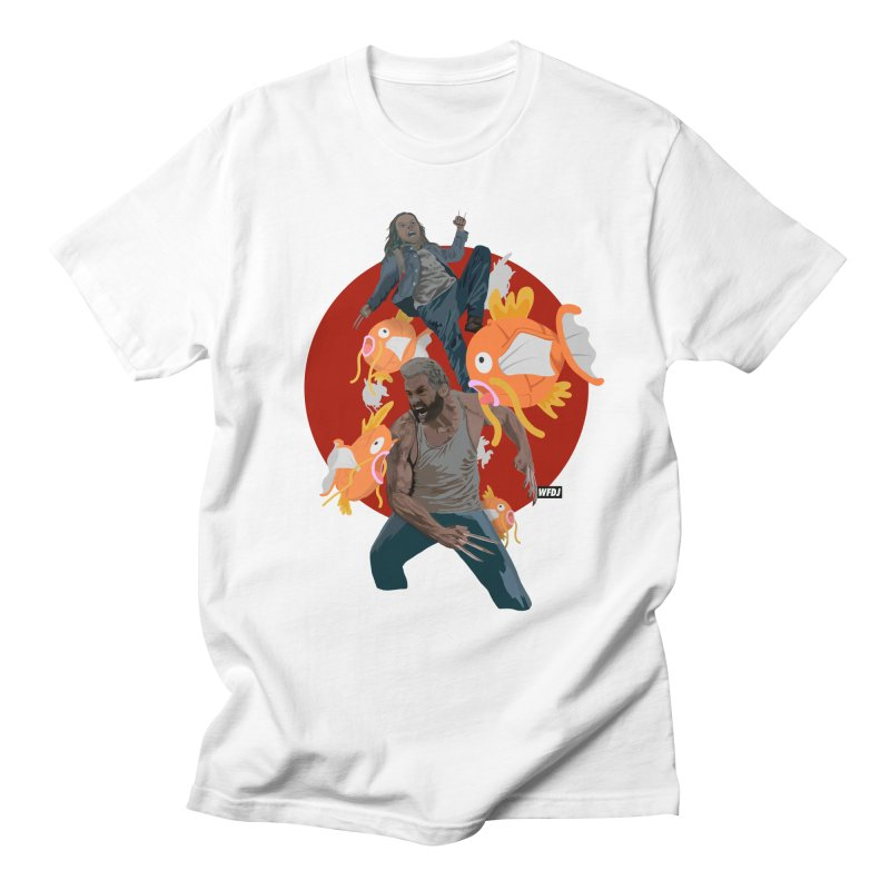 Father, Child, Fish Men's T-Shirt by World Famous Design Junkies