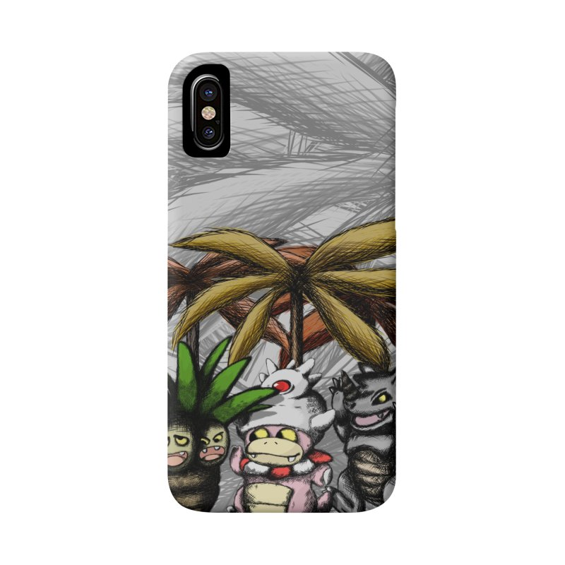 Wild Monster Capture Rumpus Accessories Phone Case by World Famous Design Junkies