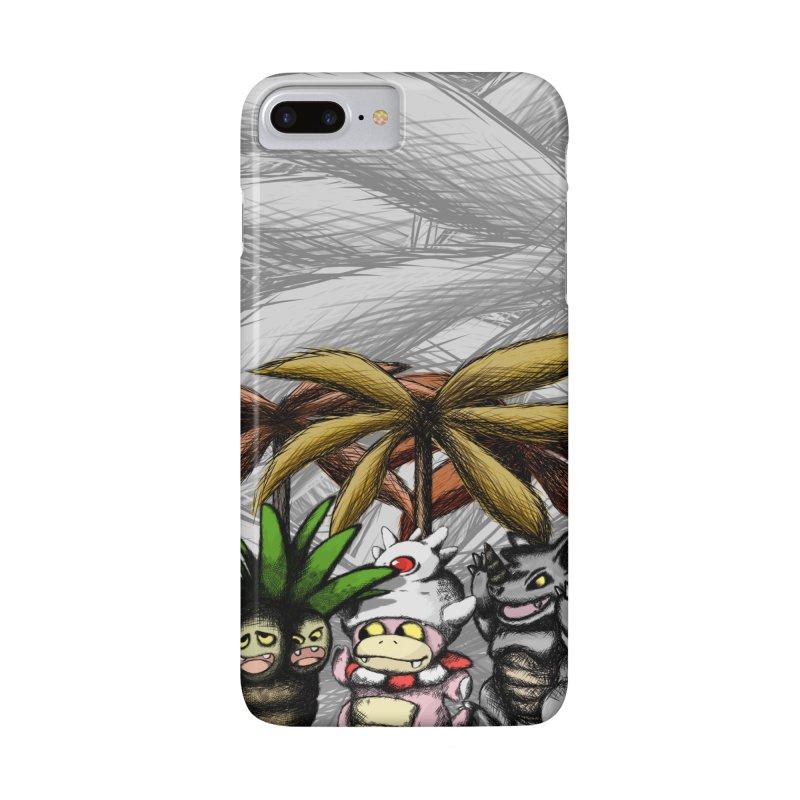 Wild Monster Capture Rumpus Accessories Phone Case by World Famous Design Junkies