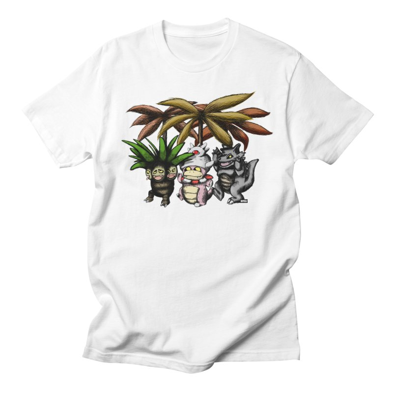 Wild Monster Capture Rumpus Women's Unisex T-Shirt by World Famous Design Junkies