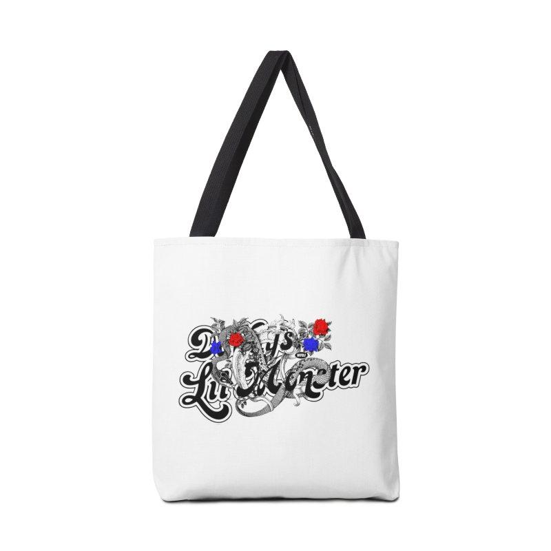 Little Monster [DARK] Accessories Bag by World Famous Design Junkies