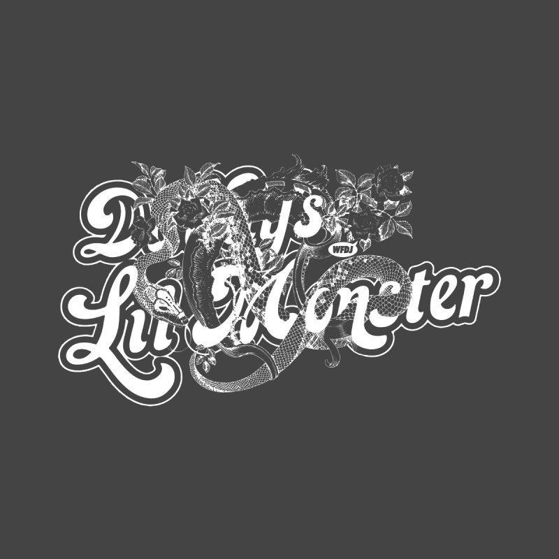 Lil' Monster WHITE None  by World Famous Design Junkies