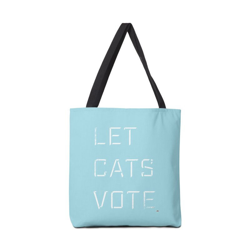 LET CATS VOTE Accessories Bag by World Famous Design Junkies
