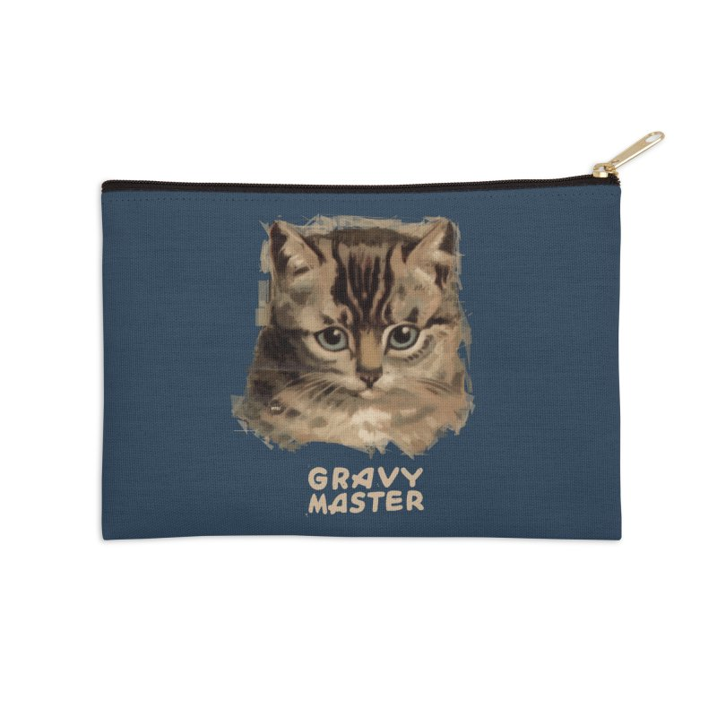 GRAVY MASTER Accessories Zip Pouch by World Famous Design Junkies