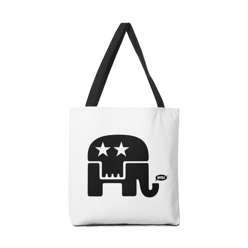 Party of Death [ Republican Elephant Skull ] Accessories Bag by World Famous Design Junkies