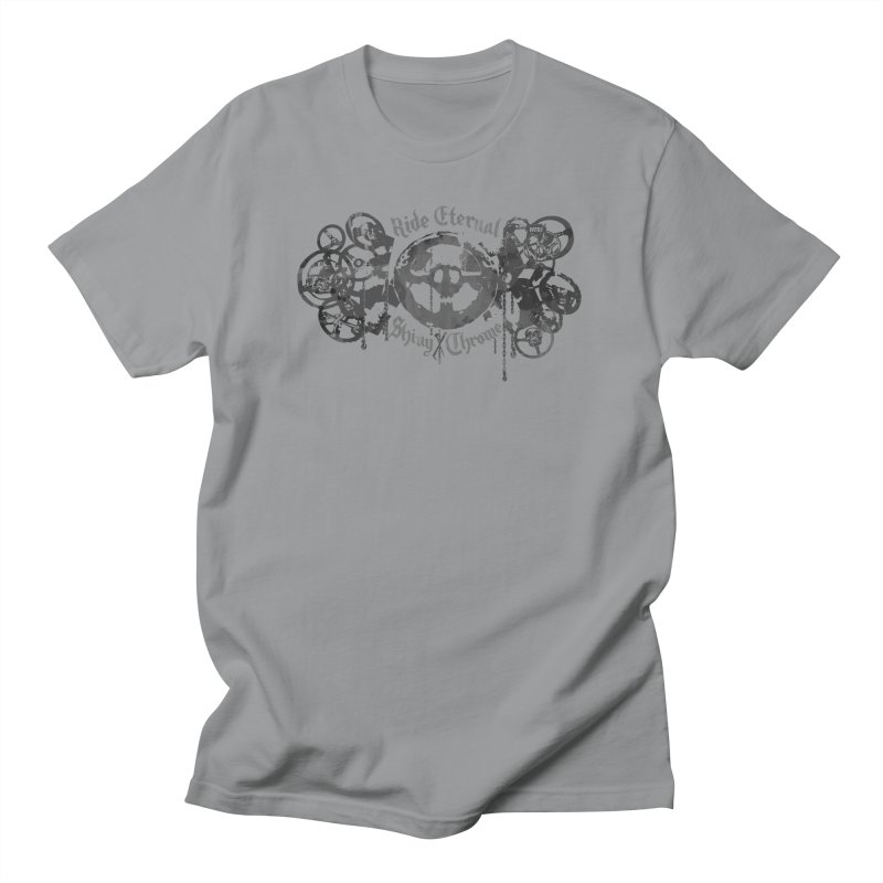 How to Ride Eternal (Shiny and Chrome) Men's T-shirt by World Famous Design Junkies