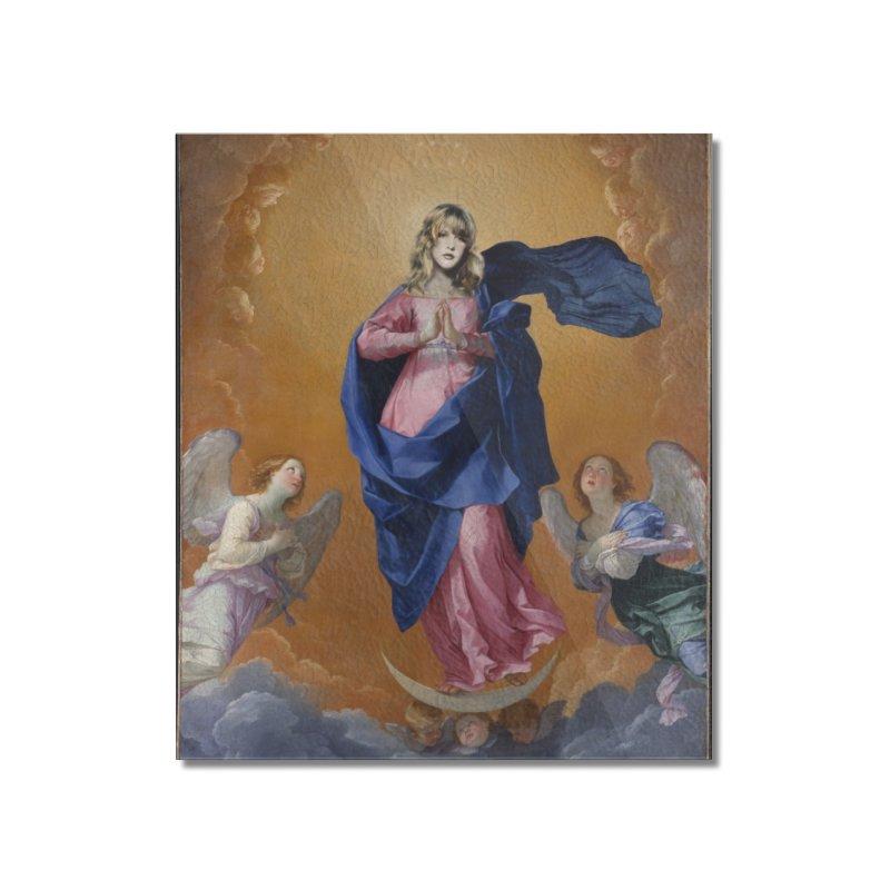 Saint Nicks Home Mounted Acrylic Print by World Famous Design Junkies
