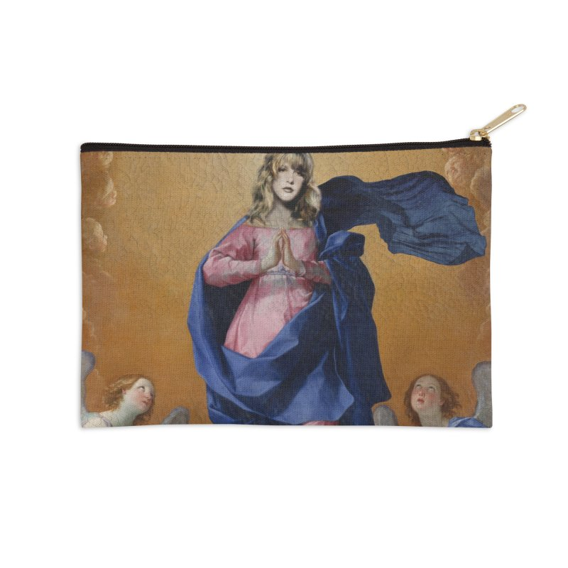 Saint Nicks Accessories Zip Pouch by World Famous Design Junkies