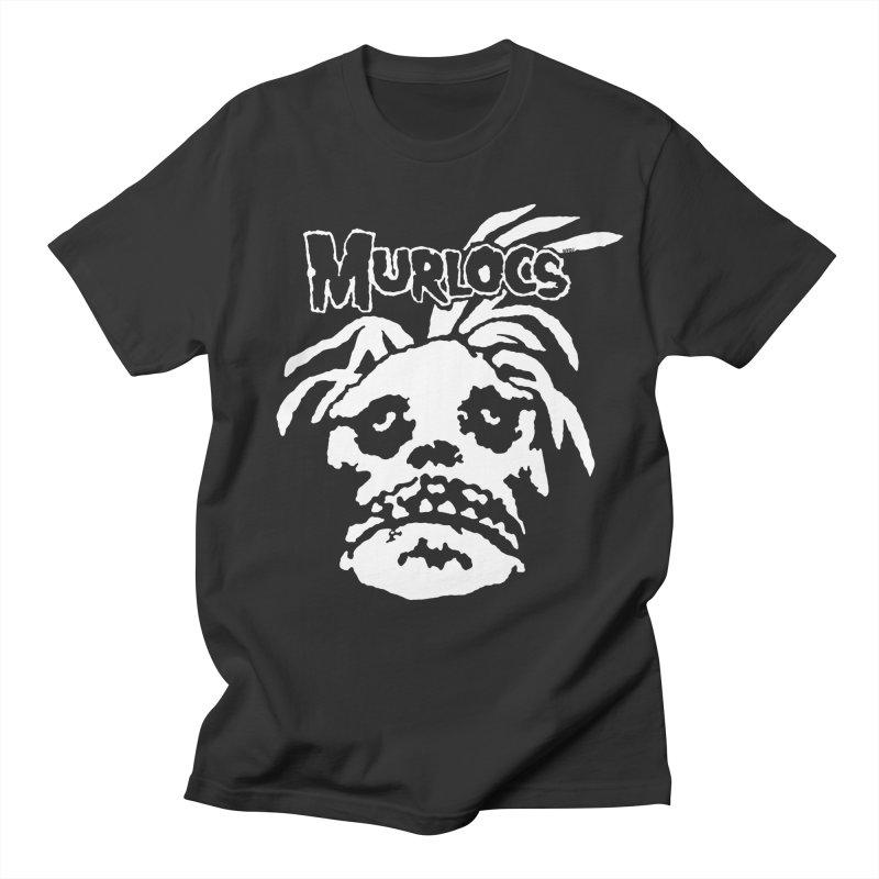 Murloc Misfits black and white Women's Unisex T-Shirt by World Famous Design Junkies