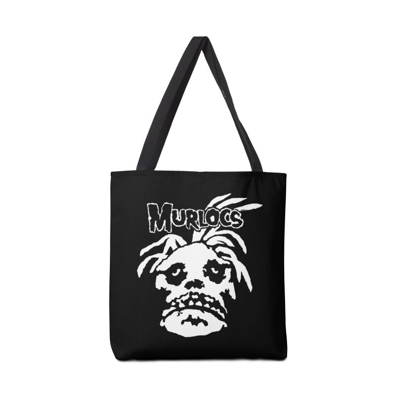 Murloc Misfits black and white Accessories Bag by World Famous Design Junkies
