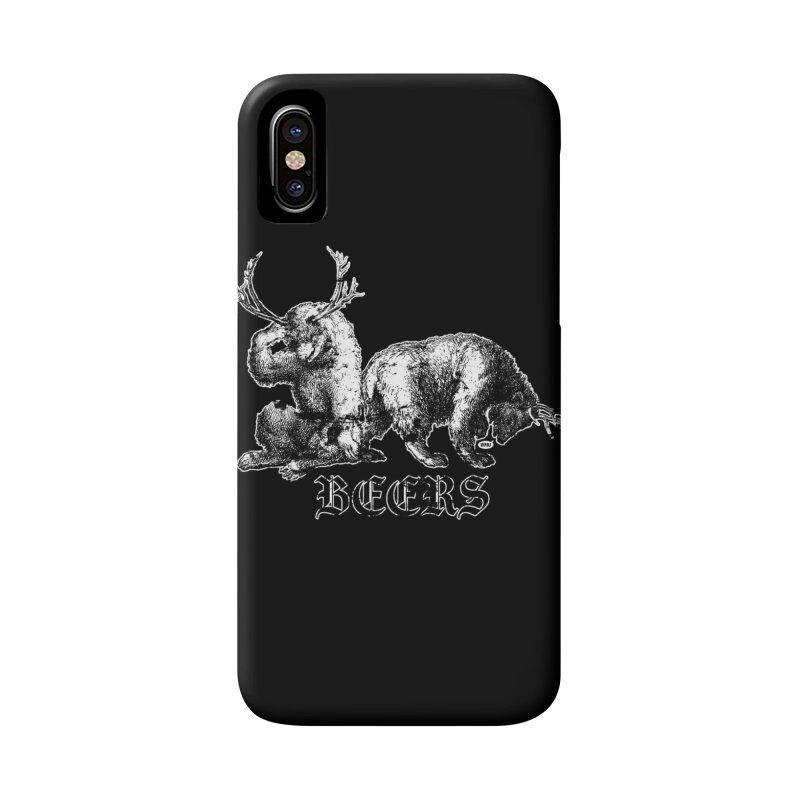 Two more beers Accessories Phone Case by World Famous Design Junkies