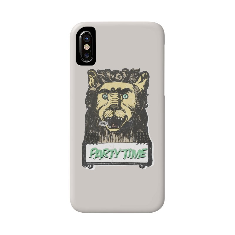 PARTY TIME Accessories Phone Case by World Famous Design Junkies