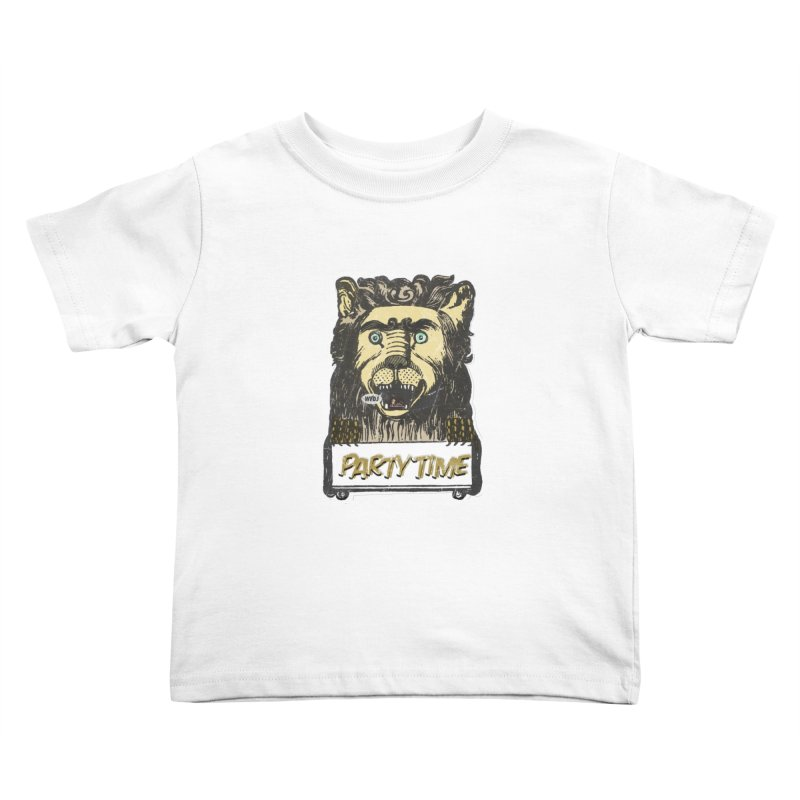 PARTY TIME Kids Toddler T-Shirt by World Famous Design Junkies