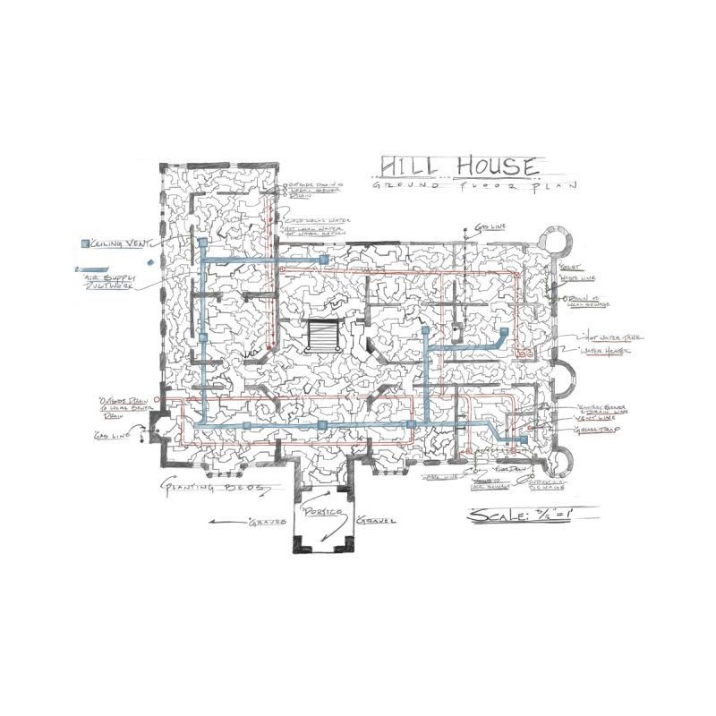Hill House Blueprint by World Famous Design Junkies