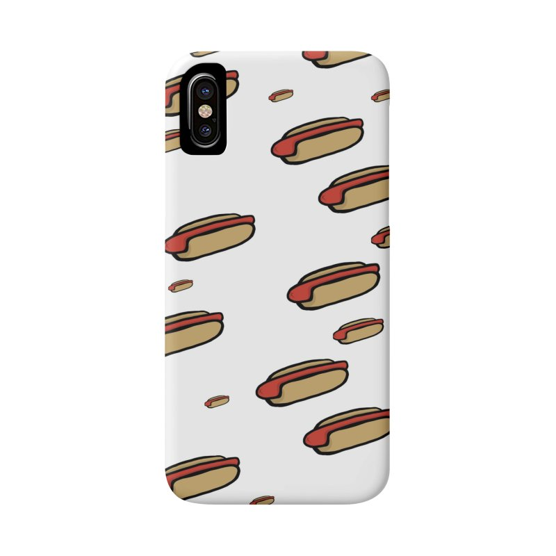 Hotdog Life Accessories Phone Case by World Famous Design Junkies