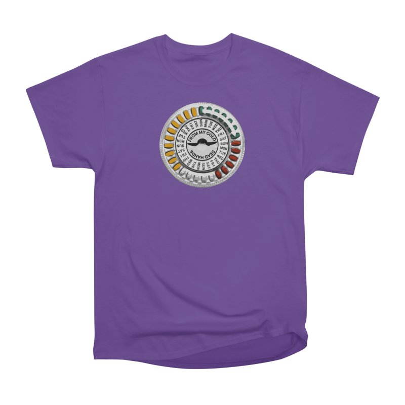 From My Cold Dead Hands (birth control pills) Men's Heavyweight T-Shirt by World Famous Design Junkies