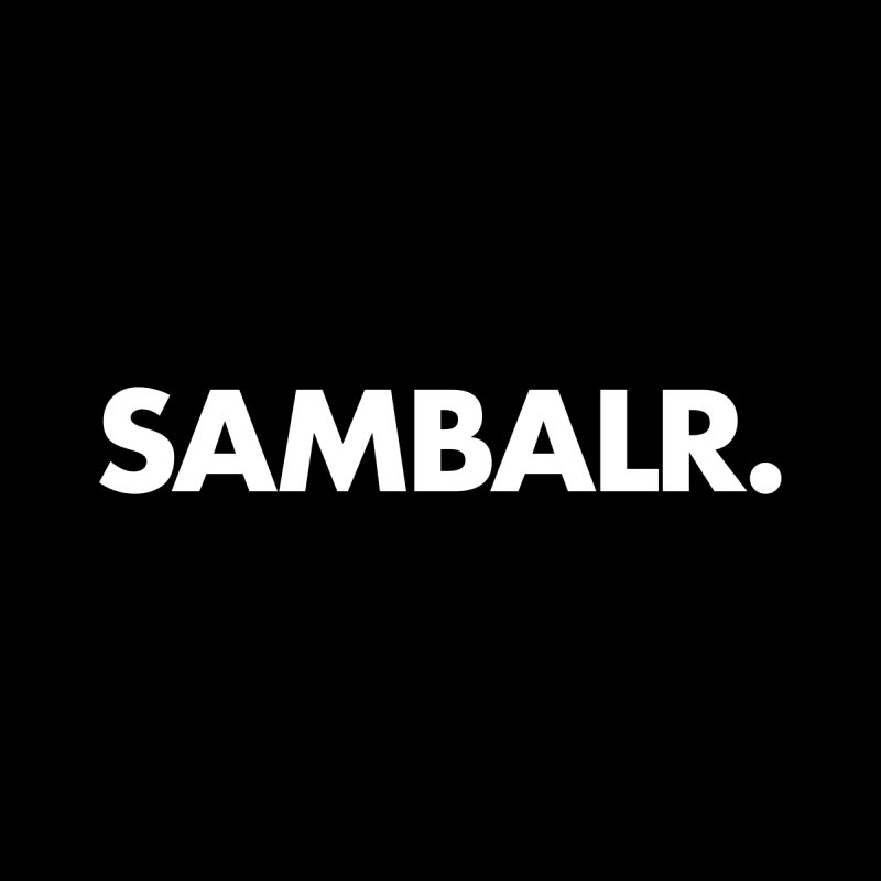SAMBALR Men's Sweatshirt by WHADDUPANDA BODEGA