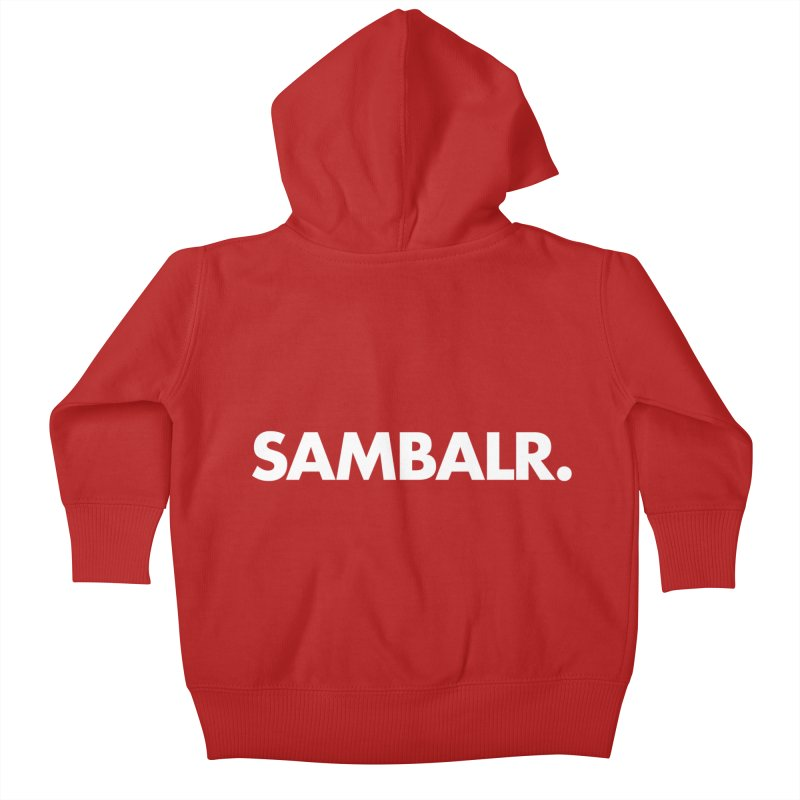SAMBALR Kids Baby Zip-Up Hoody by WHADDUPANDA BODEGA