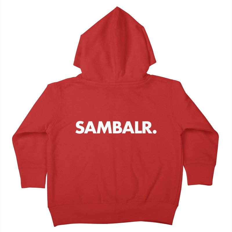 SAMBALR Kids Toddler Zip-Up Hoody by WHADDUPANDA BODEGA