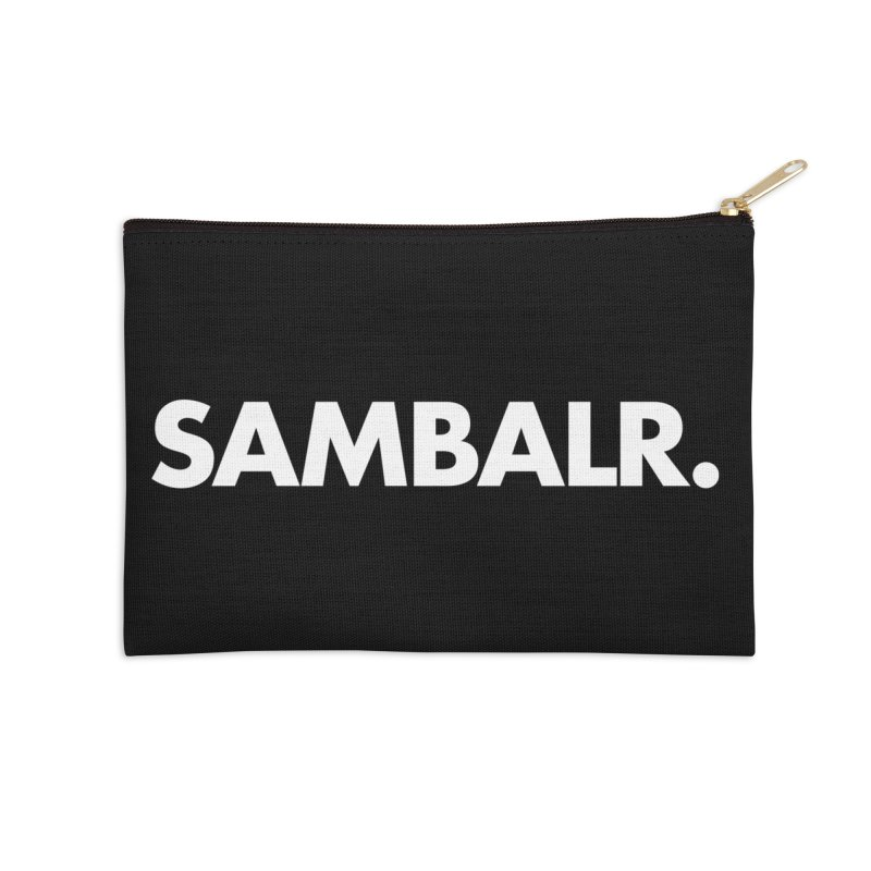 SAMBALR Accessories Zip Pouch by WHADDUPANDA BODEGA