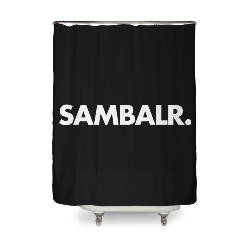 SAMBALR Home Shower Curtain by WHADDUPANDA BODEGA