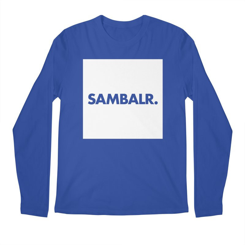 SAMBALR White Flag Men's Longsleeve T-Shirt by WHADDUPANDA BODEGA