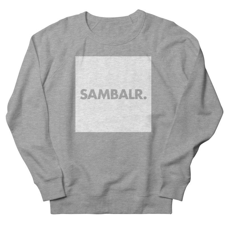 SAMBALR White Flag Women's Sweatshirt by WHADDUPANDA BODEGA