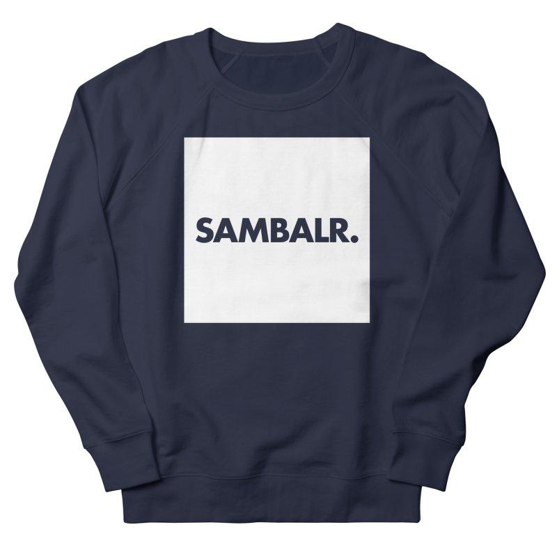SAMBALR White Flag Men's Sweatshirt by WHADDUPANDA BODEGA