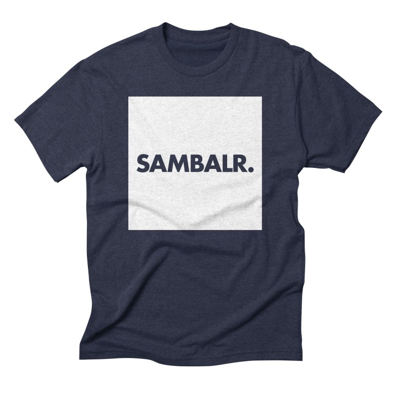 SAMBALR White Flag Men's Triblend T-Shirt by WHADDUPANDA BODEGA