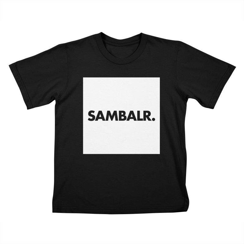SAMBALR White Flag Kids T-shirt by WHADDUPANDA BODEGA