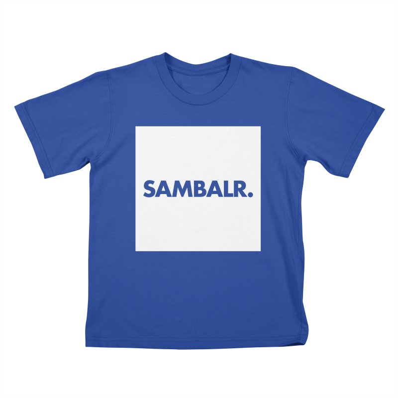 SAMBALR White Flag Kids T-Shirt by WHADDUPANDA BODEGA