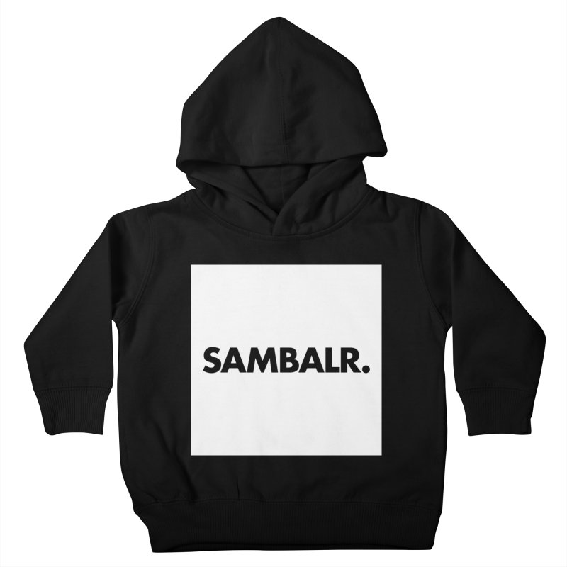 SAMBALR White Flag Kids Toddler Pullover Hoody by WHADDUPANDA BODEGA