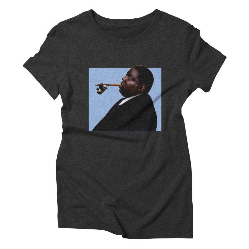 Biggie Panda Women's Triblend T-Shirt by WHADDUPANDA BODEGA