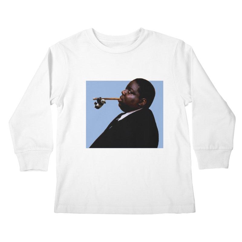 Biggie Panda Kids Longsleeve T-Shirt by WHADDUPANDA BODEGA