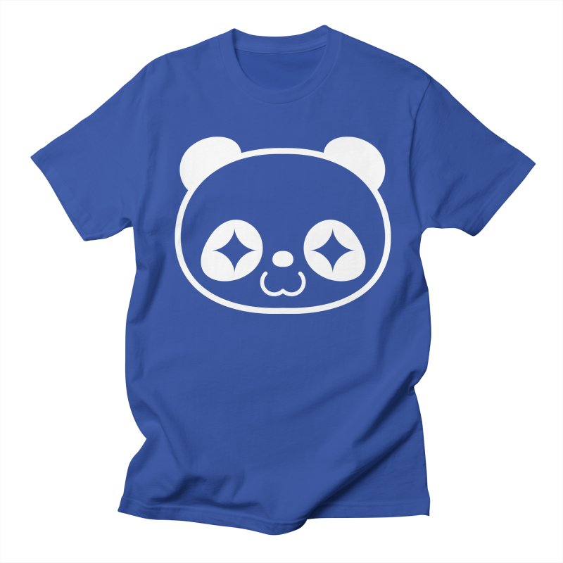 PANDA HEAD white Women's Unisex T-Shirt by WHADDUPANDA BODEGA