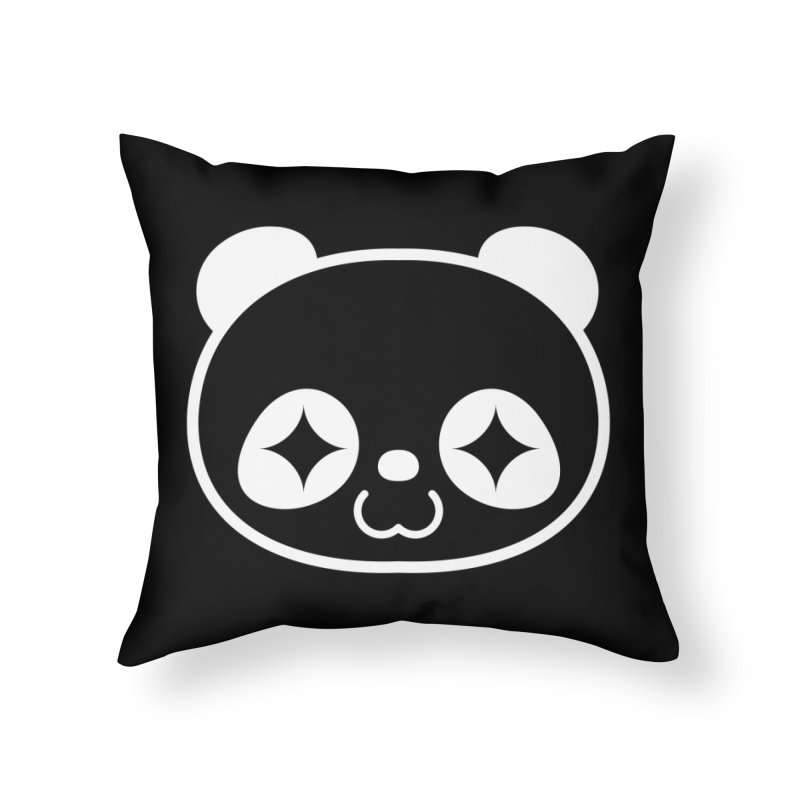 PANDA HEAD white   by WHADDUPANDA BODEGA