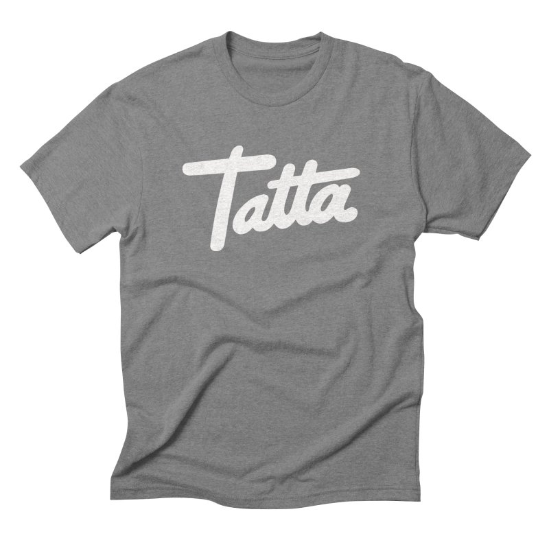 Tatta Men's Triblend T-shirt by WHADDUPANDA BODEGA
