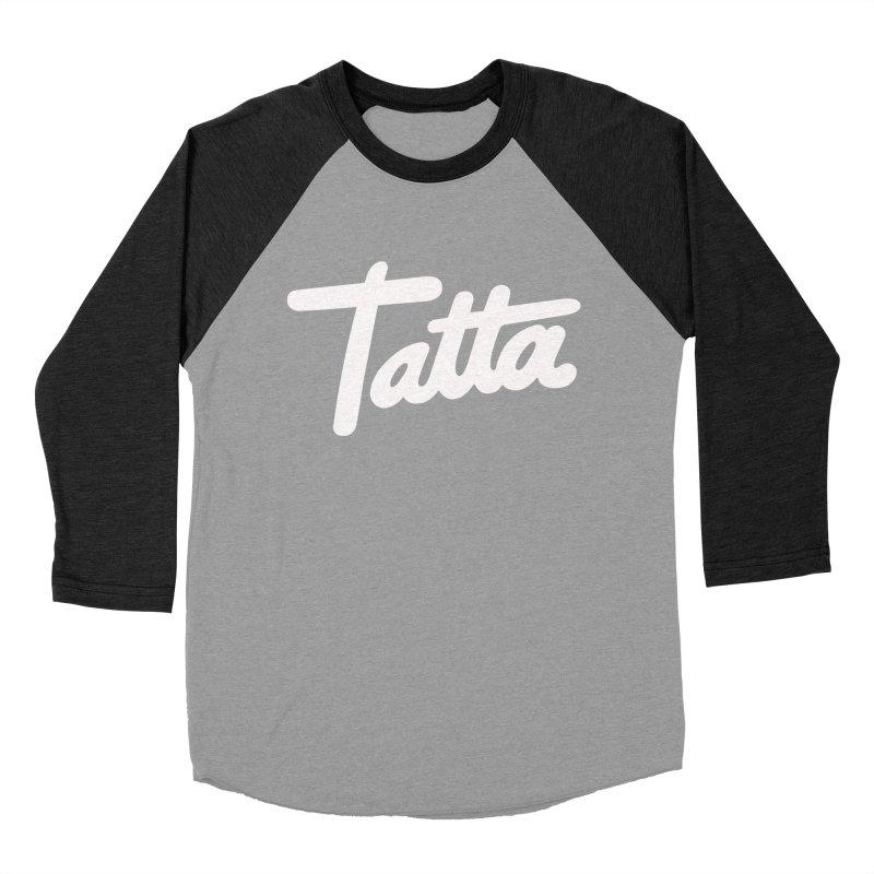 Tatta Men's Baseball Triblend T-Shirt by WHADDUPANDA BODEGA